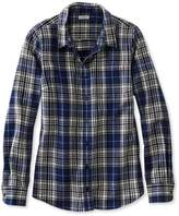 L.L. Bean L.L.Bean Women's Scotch Plaid Shirt, Slightly Fitted