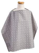 Trend Lab Greek Key Nursing Cover - Gray