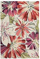 Nourison Floral Springs Hook Rectangular Rugs