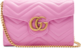 Gucci GG Marmont quilted-leather cross-body bag