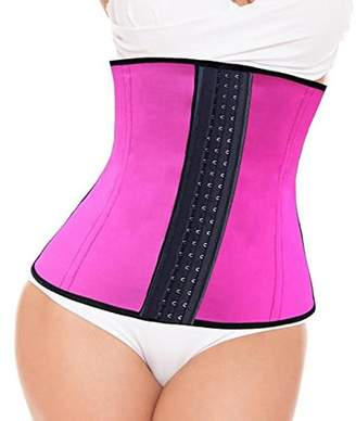 Tellsell Celebrity Double Wide Waist Trainer Corset, Pink, XX-Large, 4.5 Ounce