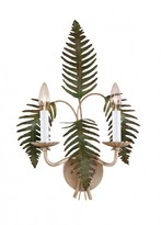 The Well Appointed House Two Light Fern Design Wall Sconce