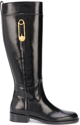 Versace Safety Pin boots