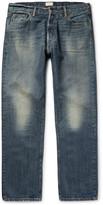 Simon Miller - M004 Wide-leg Washed-denim Jeans