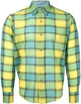Facetasm longsleeve plaid shirt