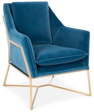 Safavieh Couture Evrex Velvet Club Chair
