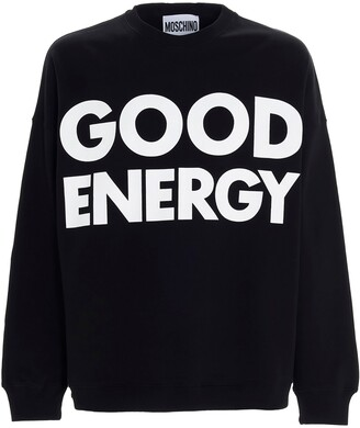 Moschino Slogan Printed Sweatshirt