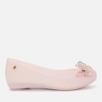 Melissa Women's Ultragirl Butterfly Ballet Flats - Light Pink