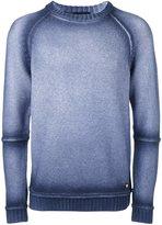 Versace faded crew neck jumper - men - Polyamide/Wool - 48