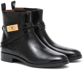 Tory Burch Leather ankle boots