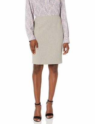 Kasper Women's Petite Melange Skirt