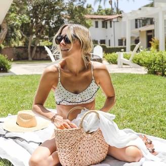 Summersalt The Ruffle Marina Bikini Top - Damsel Dot