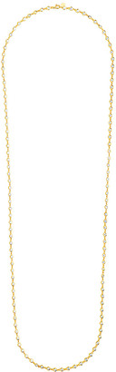 Sterling Forever 14K Over Silver Cz 36In Wrap Necklace