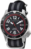 Momentum Men's 1M-DV74R7S Analog Display Japanese Quartz Black Watch