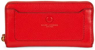Marc Jacobs Textured Leather Continental Wallet