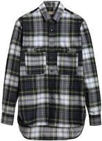 Burberry check tartan shirt