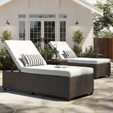Tegan Sol 72 Outdoor Chaise Lounge with Cushion Sol 72 Outdoor