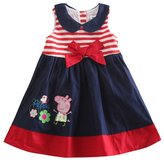 Three Four Baby Girl Short Long Party Cute Cartoon Prince Princess Bow Dress Skirt