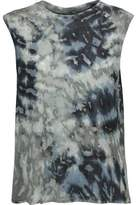 Enza Costa Tie-Dyed Jersey Top