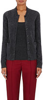 Barneys New York Women's Merino Wool-Blend Cardigan-DARK GREY