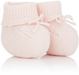 Bonpoint Cashmere Booties-PINK