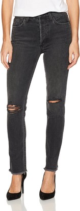 Siwy Women's Gaby High-Waisted Skinny Jeans in Black Destroy Cadillac 25