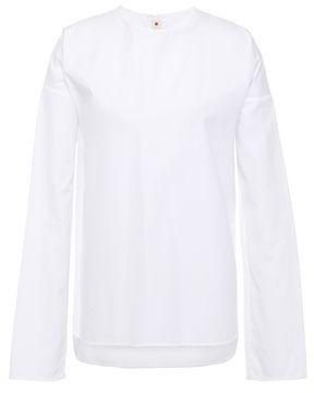 Marni Zip-detailed Cotton-poplin Top