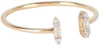 Adina Open Stack Baguette Ring