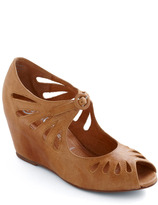 Jeffrey Campbell Cutout Cookie Wedge