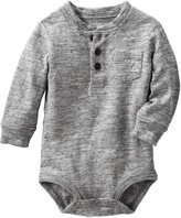 Osh Kosh Knit Bodysuit (Baby) - Heather - 24 Months