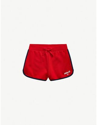 Ralph Lauren Logo-print cotton-jersey shorts 2-14 years