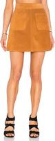 Frame Suede Skirt