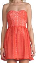 Parker London Eyelet Dress
