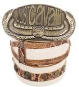 Just Cavalli Logo Leather Belt