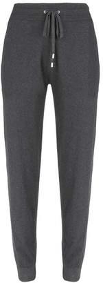 Mint Velvet Grey Cotton Cashmere Joggers