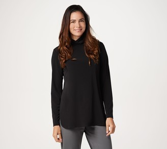 Susan Graver Modern Essentials Liquid Knit Turtleneck