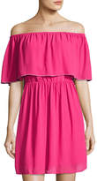 Cynthia Steffe Natalia Off-the-Shoulder Dress, Pink