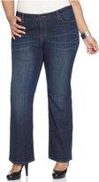 Levi's Plus Size 590 Fuller Waist Bootcut Jeans, Oceana Wash