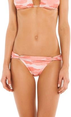 Vix Camu Printed Bikini Bottoms