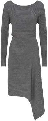 AllSaints Eva Metallic Dress
