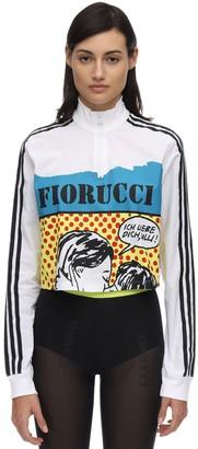 adidas Fiorucci Cropped Track Top
