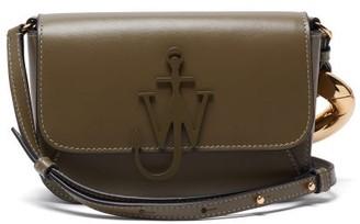 J.W.Anderson Anchor Small Chain-strap Leather Cross-body Bag - Green Multi