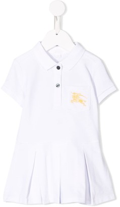 BURBERRY KIDS EKD logo polo dress