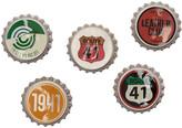 Five-pack Multicolor Bottle Cap Pins
