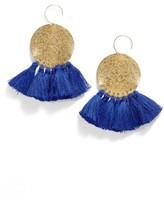 Women's Serefina Lunar Tassel Earrings