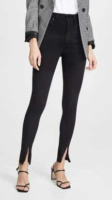 Joe's Jeans x WWW The Danielle High Rise Skinny Zip Jeans