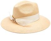 Federica Moretti Isa straw hat