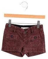Bonpoint Girls' Corduroy Mini Shorts