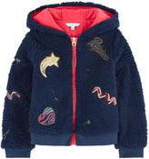 Little Marc Jacobs False fur zip sweatshirt