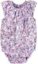 Osh Kosh Baby Girl Floral Bodysuit